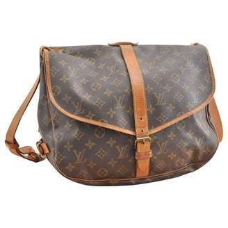 Louis Vuitton Saumur Cloth Handbag