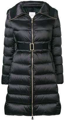 Moncler padded fitted coat