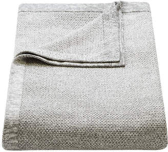 Melange Home Flaxfield Linen Sala Lounge Grey Knitted Lounge Throw