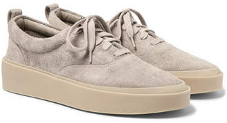 Fear Of God 101 Brushed-suede Sneakers - Gray