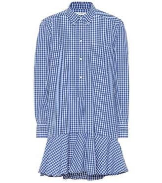 Etoile Isabel Marant Isabel Marant, Étoile Ondria plaid cotton shirt dress