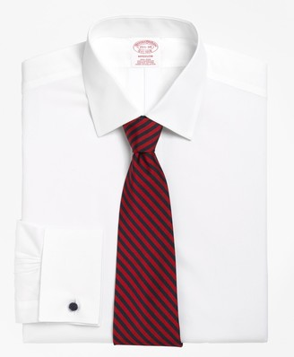Brooks Brothers Madison Classic-Fit Dress Shirt, Non-Iron Spread Collar French Cuff