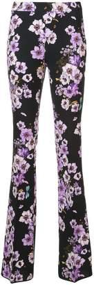 Giambattista Valli floral high-waisted trousers