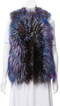 Fendi Fox Fur Vest
