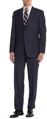 Hart Schaffner Marx Front Two Button Solid 2-Piece Suit