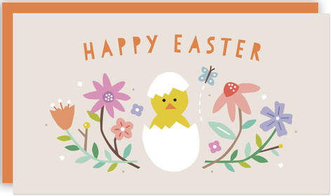 Hatched Easter Self-Launch Mini Cards