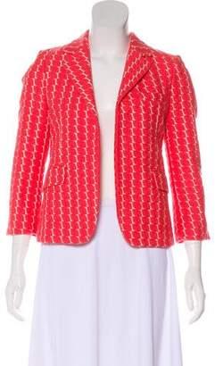 Marni Embroidered Open Blazer
