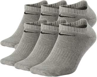 Nike Men's 6-pack Performance No-Show Socks