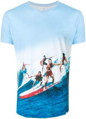 Orlebar Brown surf photo print T-shirt