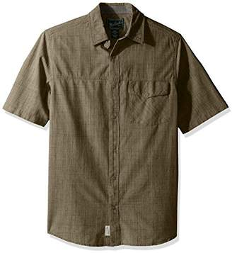 Woolrich Men's Zephyr Ridge Solid Modern Fit Shirt