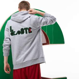 Lacoste Unisex M/M Collab Hooded Fleece Zippered Sweatshirt