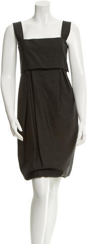 Max Mara MaxMara Sleeveless Wool Dress