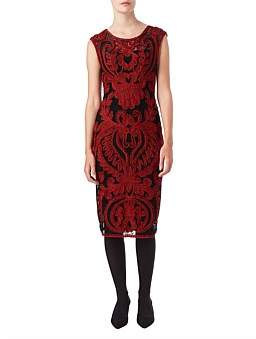 Phase Eight Delaney Tapework Dress