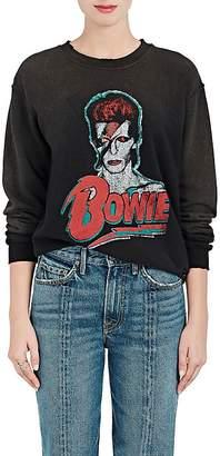 """Madeworn Women's """"Bowie"""" Distressed Cotton-Blend Sweatshirt"""
