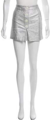 MAISON KITSUNÉ Shimmer Mini Skirt