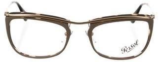 Persol Tortoiseshell Square Eyeglasses
