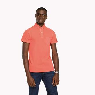 Tommy Hilfiger Garment Dyed Slim Fit Polo
