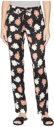 Calvin Klein Floral Drawstring Pants Women's Casual Pants