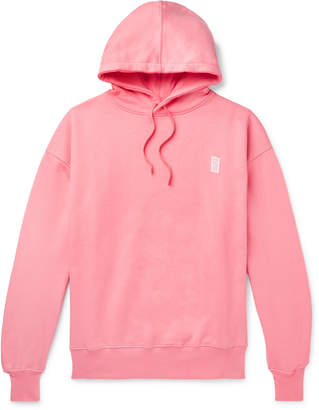 Les Girls Les Boys - Loopback Cotton-Jersey Hoodie - Men - Pink