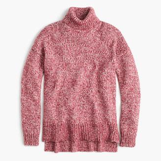 Marled Italian wool blend turtleneck sweater $138 thestylecure.com