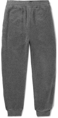 Stella McCartney Ivan Tapered Mélange Stretch-Cotton Fleece Sweatpants