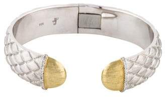 Jude Frances Diamond Quilted Soho Cuff
