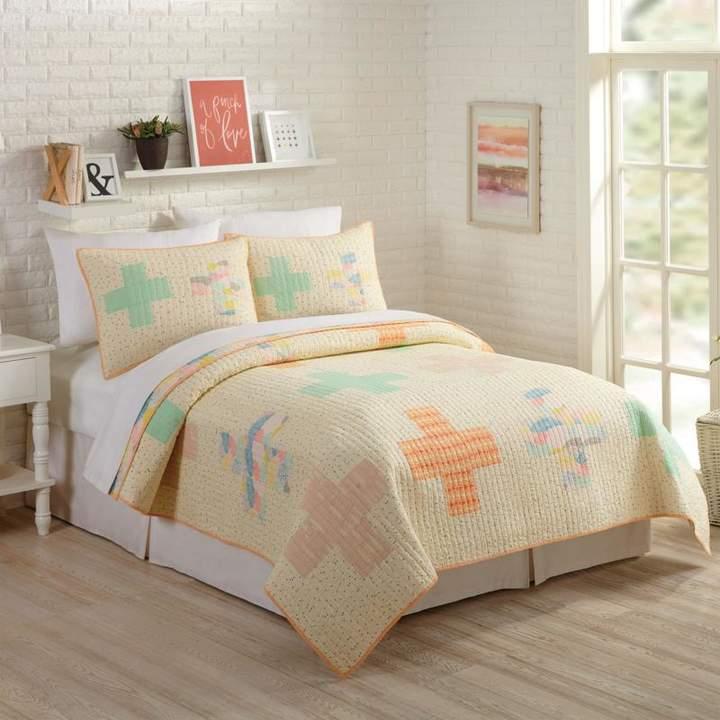 Peking Handicraft, Inc. Bonnie Christine Hillside Springs 2pc Quilt Set – Full/Queen