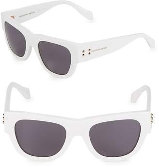 Alexander McQueen Women's 51MM Square Sunglasses