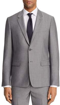 Theory Chambers Tailored Gingham Slim Fit Suit Jacket