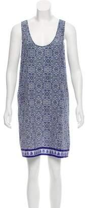Joie Printed Sleeveless Dress