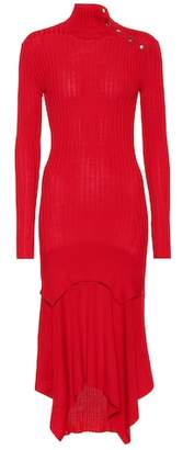 Stella McCartney Wool and silk-blend dress