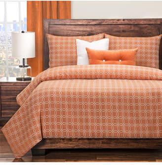 Siscovers Mandarin 6 Piece Cal King High End Duvet Set Bedding