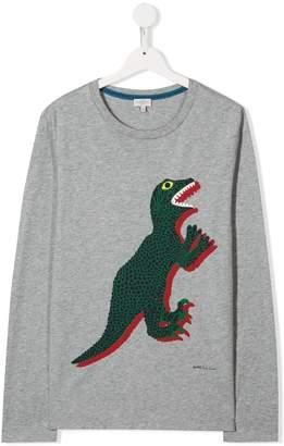 Paul Smith printed Dino sweatshirt