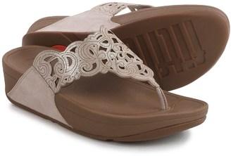 Fit Flop FitFlop Flora Sandals - Suede (For Women) $39.99 thestylecure.com
