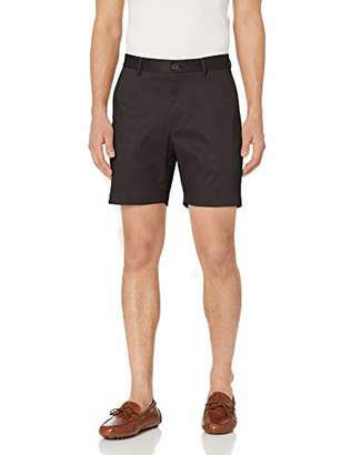 "Buttoned Down Men's Slim-Fit Flat Front 7"" Inseam Non-Iron Chino Short"
