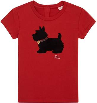 Polo Ralph Lauren Dog Print T-Shirt