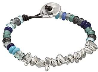 Uno de 50 Women Silver Plated Multicolour Pearl