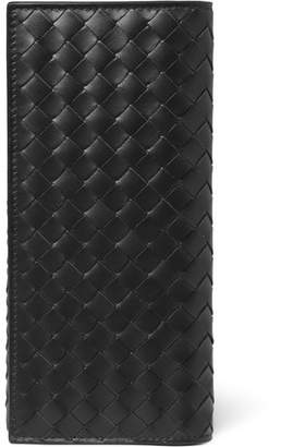 Bottega Veneta Intrecciato Leather Travel Wallet