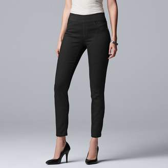 Vera Wang Women's Simply Vera Everyday Luxury Pull-On Jeggings