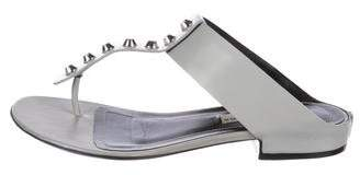 Balenciaga Studded Thong Sandals