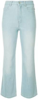 Tibi cropped jeans