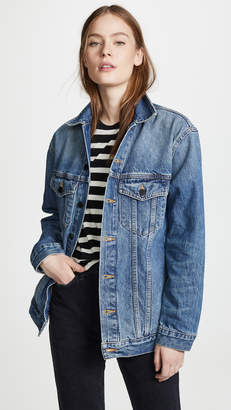 Alexander Wang Denim x Daze Oversized Denim Jacket