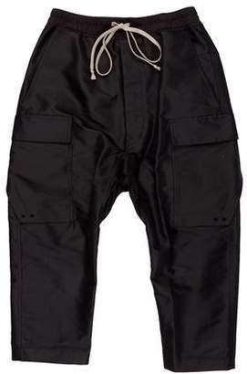 Rick Owens Drop Crotch Casual Cargo Pants