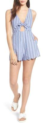 Lush Knot Front Romper