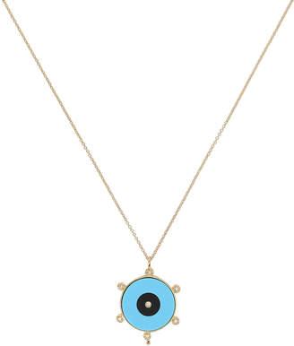 Jennifer Zeuner Jewelry Liya Eye Pendant Necklace