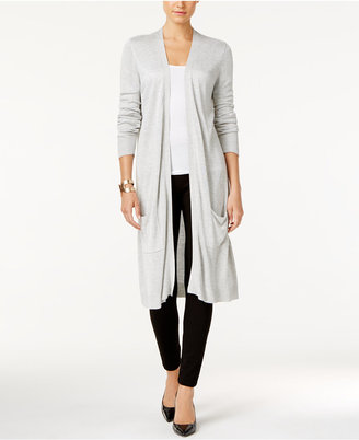 Joseph A Open-Front Duster Cardigan $70 thestylecure.com