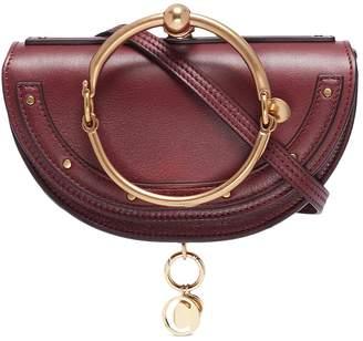 Chloé 'Nile' bracelet handle leather minaudière