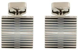 Tateossian striped cufflink