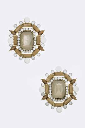Chic Chelsea Statement Crystal Post Earrings