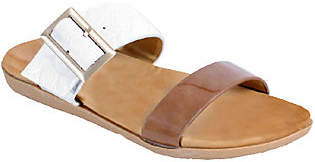 NOMAD Patent-Look Sandals - Capri